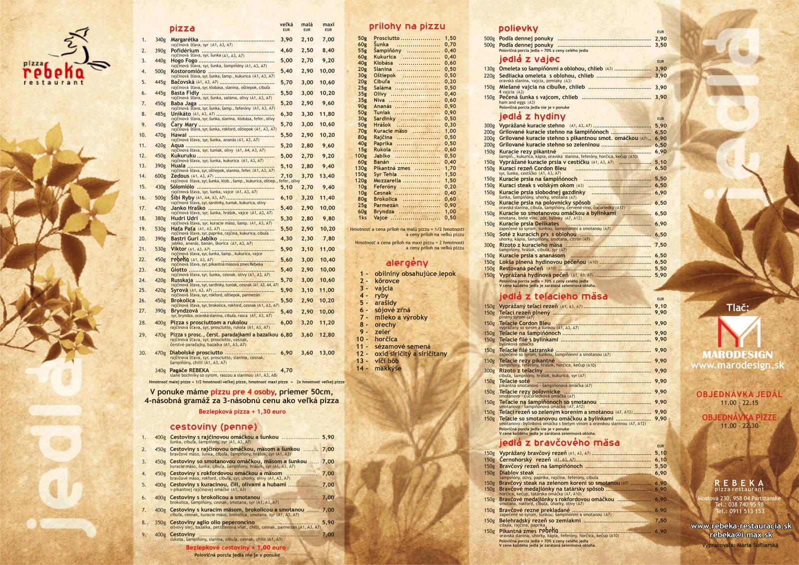 147da7e484 domov · pizza · denné menu ...